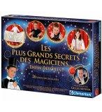 LES PLUS GRANDS SECRETS DES MAGICIENS - JEU DE MAGIE - CLEMENTONI - 62508