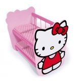 LITS SUPERPOSES EN BOIS HELLO KITTY POUPEE - LITS DOUBLES