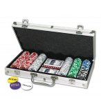 MALLETTE DE POKER DELUXE 300 JETONS - TEXAS HOLD'EM - JEU DE CASINO