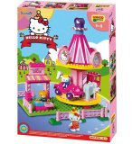 MANEGE CARROUSEL HELLO KITTY FUN PARK - UNICO PLUS - 8687 - JEU DE CONSTRUCTION