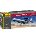 MAQUETTE AVION BOEING E-3 A/C AWACS - ECHELLE 1/72- HELLER - 80308