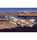 MAQUETTE AVION MILITAIRE MIRAGE III C/B - ECHELLE 1/48 - HELLER - 80411