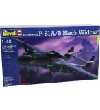 MAQUETTE AVION NORTHROP P-61A/B BLACK WIDOW - ECHELLE 1/48 - REVELL - 04887