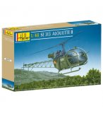 MAQUETTE HELICOPTERE SE 313 ALOUETTE II - ECHELLE 1/48 - HELLER - 80479