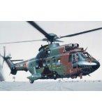 MAQUETTE HELICOPTERE SUPER PUMA AS 332 M1 - ECHELLE 1/72 - HELLER - 80367