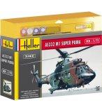 MAQUETTE HELICOPTERE SUPER PUMA AS332 M1 - ECHELLE 1/72 - HELLER - 50367