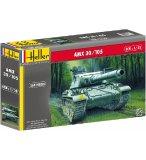 MAQUETTE VEHICULE MILITAIRE CHAR AMX 30/105 - ECHELLE 1/35 - HELLER - 81137