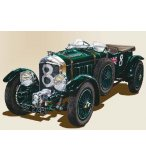 MAQUETTE VOITURE BENTLEY 4.5 L BLOWER - ECHELLE 1/24 - HELLER - 80722