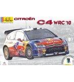 MAQUETTE VOITURE CITROEN C4 WRC 10 - ECHELLE 1/24 - HELLER - 50756
