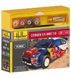 MAQUETTE VOITURE CITROEN C4 WRC '10 - ECHELLE 1/43 - HELLER - 50117