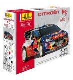 MAQUETTE VOITURE CITROEN DS3 WRC 12 - ECHELLE 1/24 - HELLER - 50757