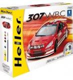 MAQUETTE VOITURE PEUGEOT 307 WRC 04 - ECHELLE 1/24 - HELLER - 50753