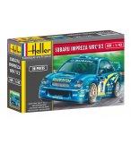 MAQUETTE VOITURE SUBARU IMPREZA WRC '02 - ECHELLE 1/43 - HELLER - 80199