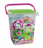 MAXI BARIL HELLO KITTY 104 BRIQUES DE CONSTRUCTION - UNICO PLUS - 8662 - PREMIER AGE