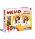 MEMO LES PETITS DES ANIMAUX 48 CARTES - CLEMENTONI - 62477 - JEU MEMORY