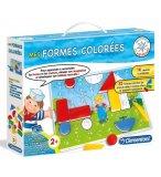 MES FORMES COLOREES - JEU COULEURS ET FORMES - CLEMENTONI - 62705