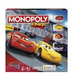 MONOPOLY JUNIOR CARS 3 DISNEY PIXAR - HASBRO - C1343 - JEU DE STRATEGIE