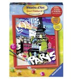 NUMERO D'ART LOVE FROM PARIS - RAVENSBURGER - 28435 - PEINTURE