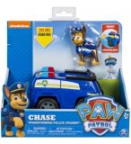 PAT PATROUILLE CHASE AVEC SON FOURGON DE POLICE TRANSFORMABLE - FIGURINE CHIEN - PAW PATROL - SPIN MASTER - 20101571