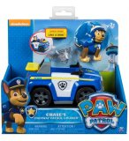 PAT PATROUILLE CHASE ET SA VOITURE DE POLICE LANCE DRONE - FIGURINE CHIEN - PAW PATROL - SPIN MASTER - 20093764