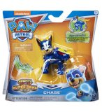 PAT PATROUILLE CHASE MIGHTY PUPS SUPERS PAWS - FIGURINE CHIEN - PAW PATROL - SPIN MASTER - 20114286