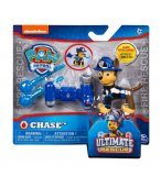 PAT PATROUILLE CHASE ULTIMATE RESCUE AVEC CANON A EAU - FIGURINE CHIEN - PAW PATROL - SPIN MASTER - 20103599
