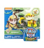 PAT PATROUILLE JUNGLE RUBEN AVEC SAC A DOS - FIGURINE CHIEN - PAW PATROL - SPIN MASTER - 20075126