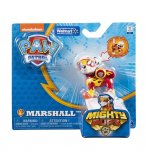 PAT PATROUILLE MARCUS MIGHTY PUPS AVEC BADGE ET PATTES LUMINEUX - FIGURINE CHIEN - PAW PATROL - SPIN MASTER - 20107726
