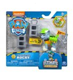 PAT PATROUILLE ROCKY ULTIMATE RESCUE CONSTRUCTION - FIGURINE CHIEN - PAW PATROL - SPIN MASTER - 20106596
