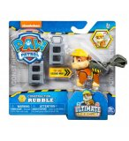PAT PATROUILLE RUBEN ULTIMATE RESCUE CONSTRUCTION - FIGURINE CHIEN - PAW PATROL - SPIN MASTER - 20106595