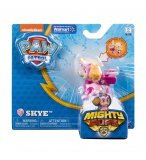 PAT PATROUILLE STELLA MIGHTY PUPS AVEC BADGE ET PATTES LUMINEUX - FIGURINE CHIEN - PAW PATROL - SPIN MASTER - 20107729