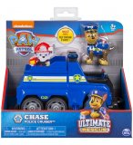 PAT PATROUILLE ULTIMATE CHASE AVEC SON FOURGON DE POLICE - FIGURINE CHIEN - PAW PATROL - SPIN MASTER - 20101534