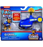 PAT PATROUILLE ULTIMATE CHASE ET SON HELICOPTERE - FIGURINE CHIEN - PAW PATROL - SPIN MASTER - 20101478