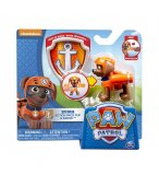 PAT PATROUILLE ZUMA AVEC SAC A DOS ET BADGE - FIGURINE CHIEN - PAW PATROL - SPIN MASTER - 20065053