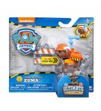 PAT PATROUILLE ZUMA ULTIMATE RESCUE CONSTRUCTION - FIGURINE CHIEN - PAW PATROL - SPIN MASTER - 20106598