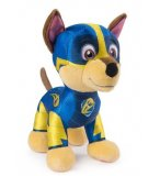 PELUCHE CHIEN CHASE SUPER CHIOTS 21 CM - PAT' PATROUILLE - SPIN MASTER - PELUCHE LICENCE