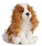 PELUCHE CHIEN PRINCE CHARLES 30 CM LIVING NATURE