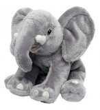 PELUCHE ELEPHANT GRIS 25 CM - WWF - 15456