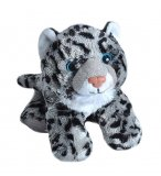 PELUCHE LEOPARD DES NEIGES 20 CM - WILD REPUBLIC - 16235