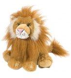 PELUCHE LION 30 CM - CUDDLEKINS - WILD REPUBLIC - 10938