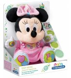 PELUCHE MINNIE INTERACTIVE : JOUE ET APPRENDS AVEC BABY MINNIE - CLEMENTONI DISNEY