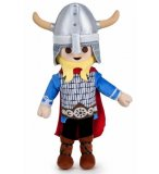 PELUCHE PLAYMOBIL : LE WIKING 37 CM - PELUCHE LICENCE - 7188A