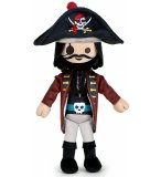 PELUCHE PLAYMOBIL PIRATE : LE CAPITAINE 35 CM - PELUCHE LICENCE - 7188F