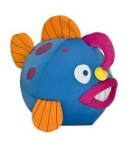PELUCHE POISSON BALLON BLEU 24 CM - POISSON LANTERNE - WILD PLANET - K7240