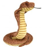 PELUCHE SERPENT : COBRA - WILD REPUBLIC - 12233