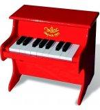 PIANO ROUGE EN BOIS - VILAC - 8317 - JOUET INSTRUMENT DE MUSIQUE