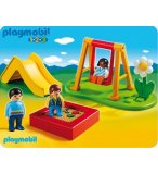 PLAYMOBIL 1.2.3 6785 ENFANTS ET PARC DE JEUX