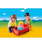 PLAYMOBIL 1.2.3 6966 PARENTS AVEC BEBE