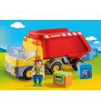 PLAYMOBIL 1.2.3 70126 CAMION BENNE