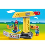 PLAYMOBIL 1.2.3 70165 GRUE DE CHANTIER